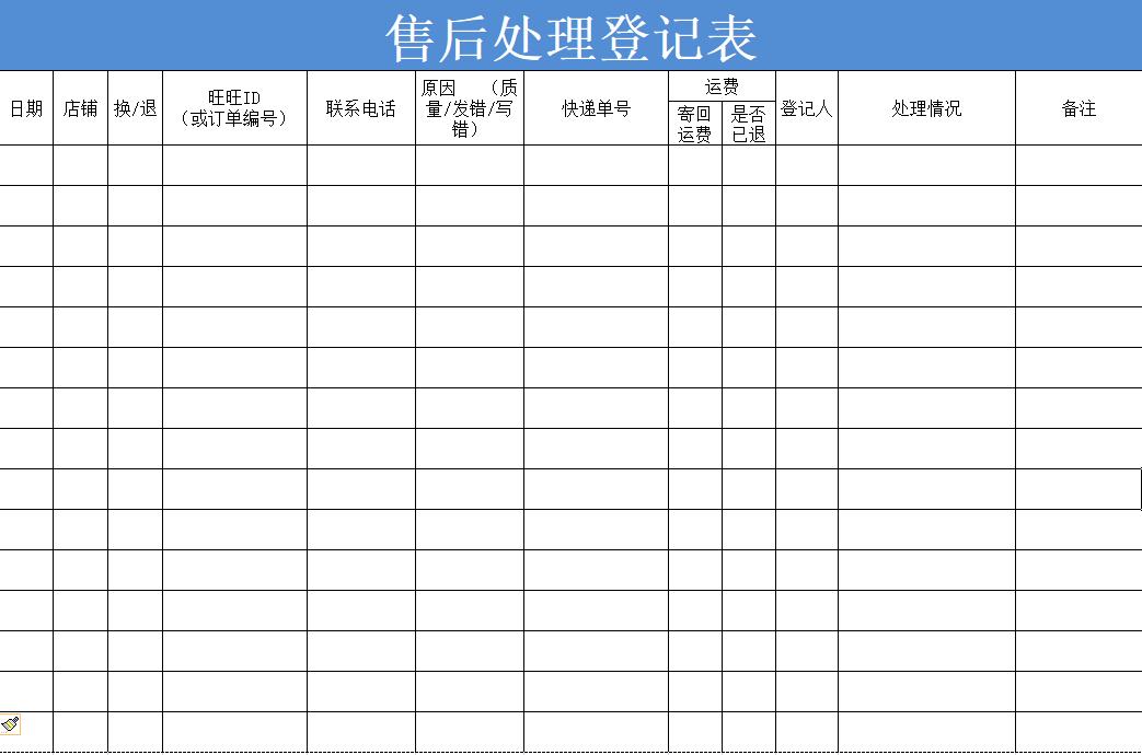 818290f1 b4dc ddc8 b222 a5562105e529 - 售后很烦?用这个Excel表梳理好流程,少背黑锅